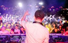 DJ at the console in Nha Trang