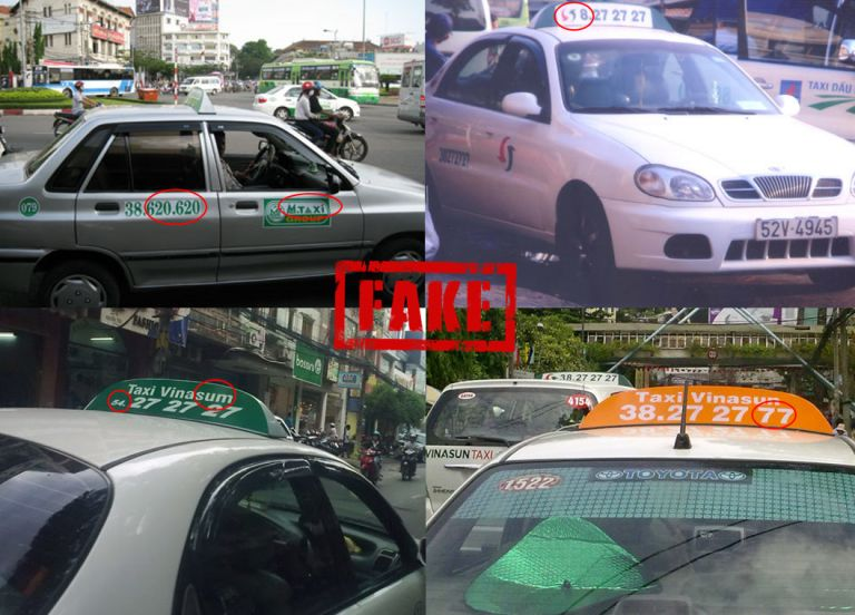 Fake taxi companies