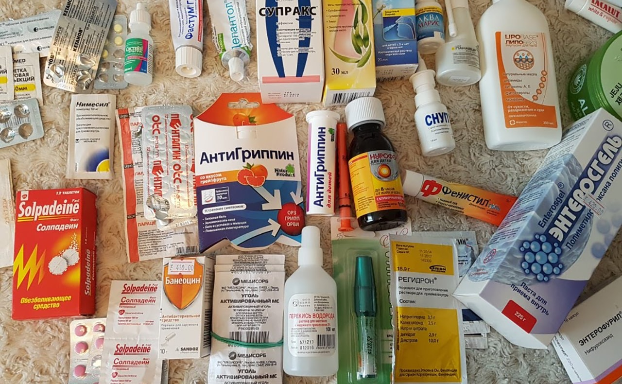 Medicines for colds