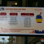 Opening hours of the cable car