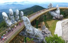 Golden Bridge in Da Nang