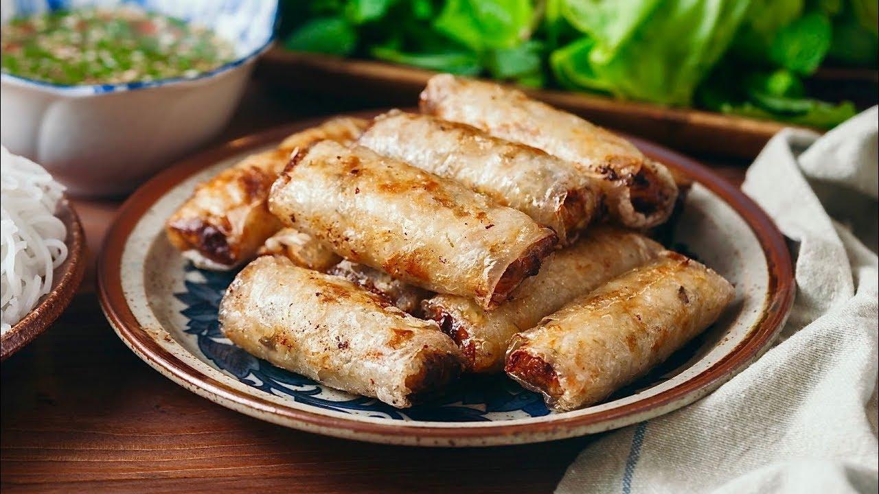 sardine spring rolls