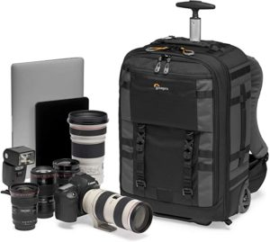 Lowepro LP37272-PWW Pro Trekker RLX 450 AW II Camera Convertible Backpack-Roller