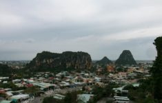 The Marble Mountains View