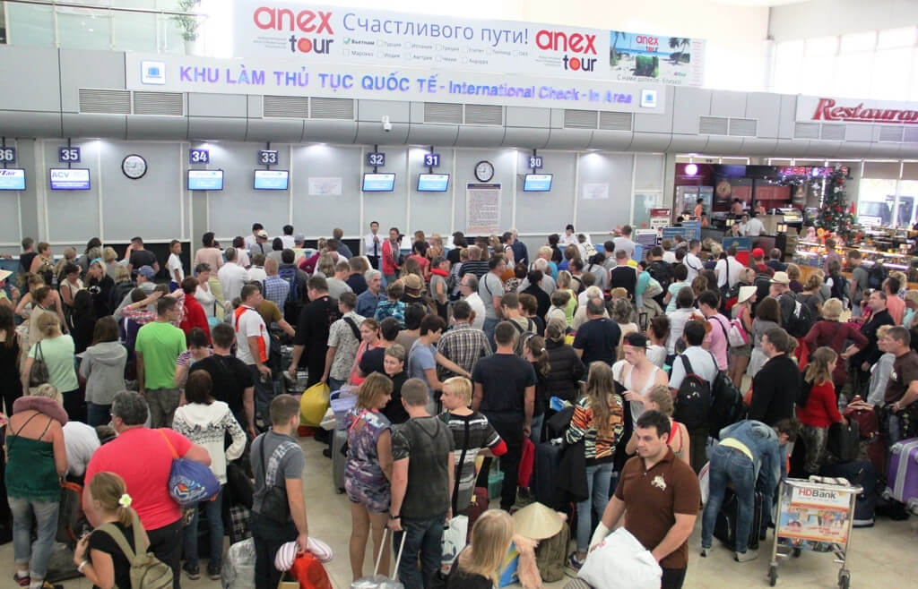 Passengers Check In Points
