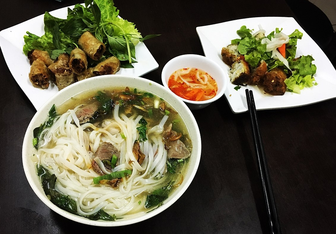 The best Vietnamese food