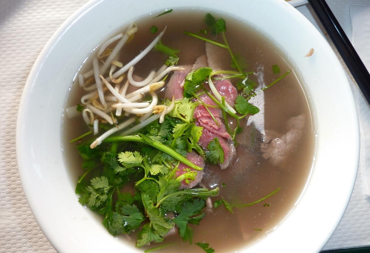 Pho, or noodle soup