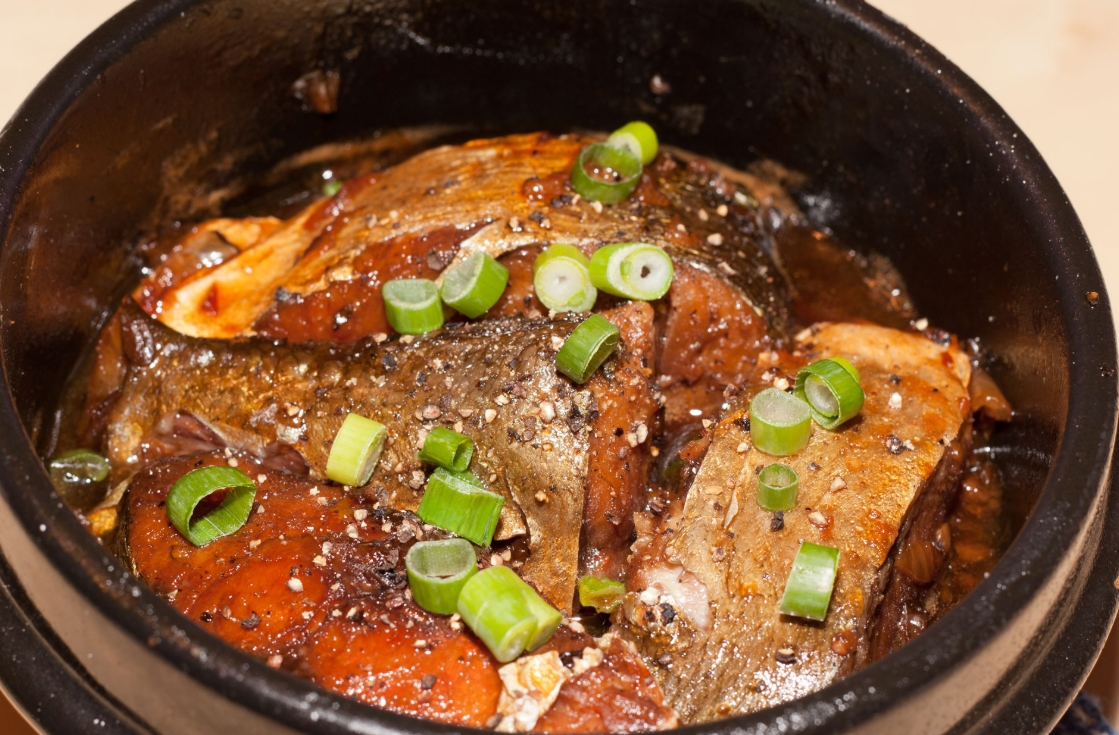 Ca Kho To, or caramelized fish