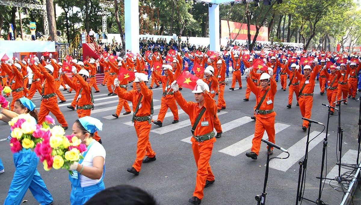 Celebrating International Labor Day in Vietnam