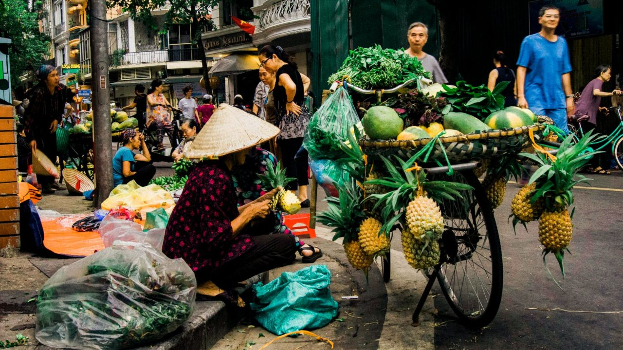 Woman Sell Fruits
