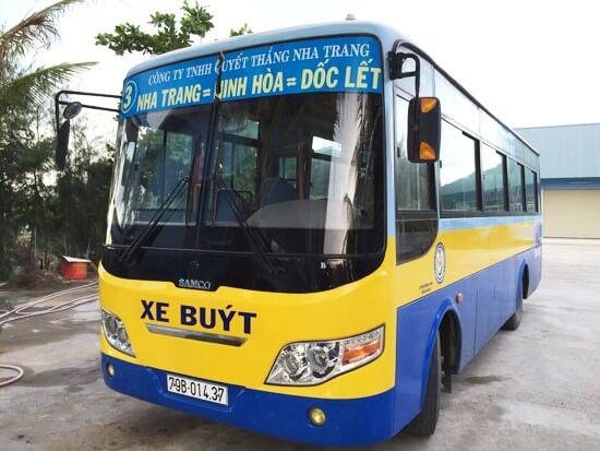 Автобус номер 3 Нячанг-Зоклет