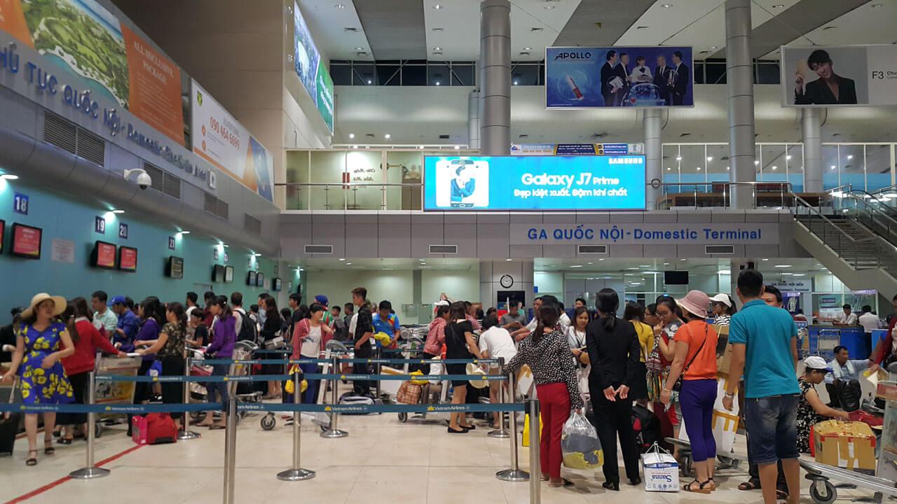 Cam Ranh International Airport in Nha Trang (Vietnam