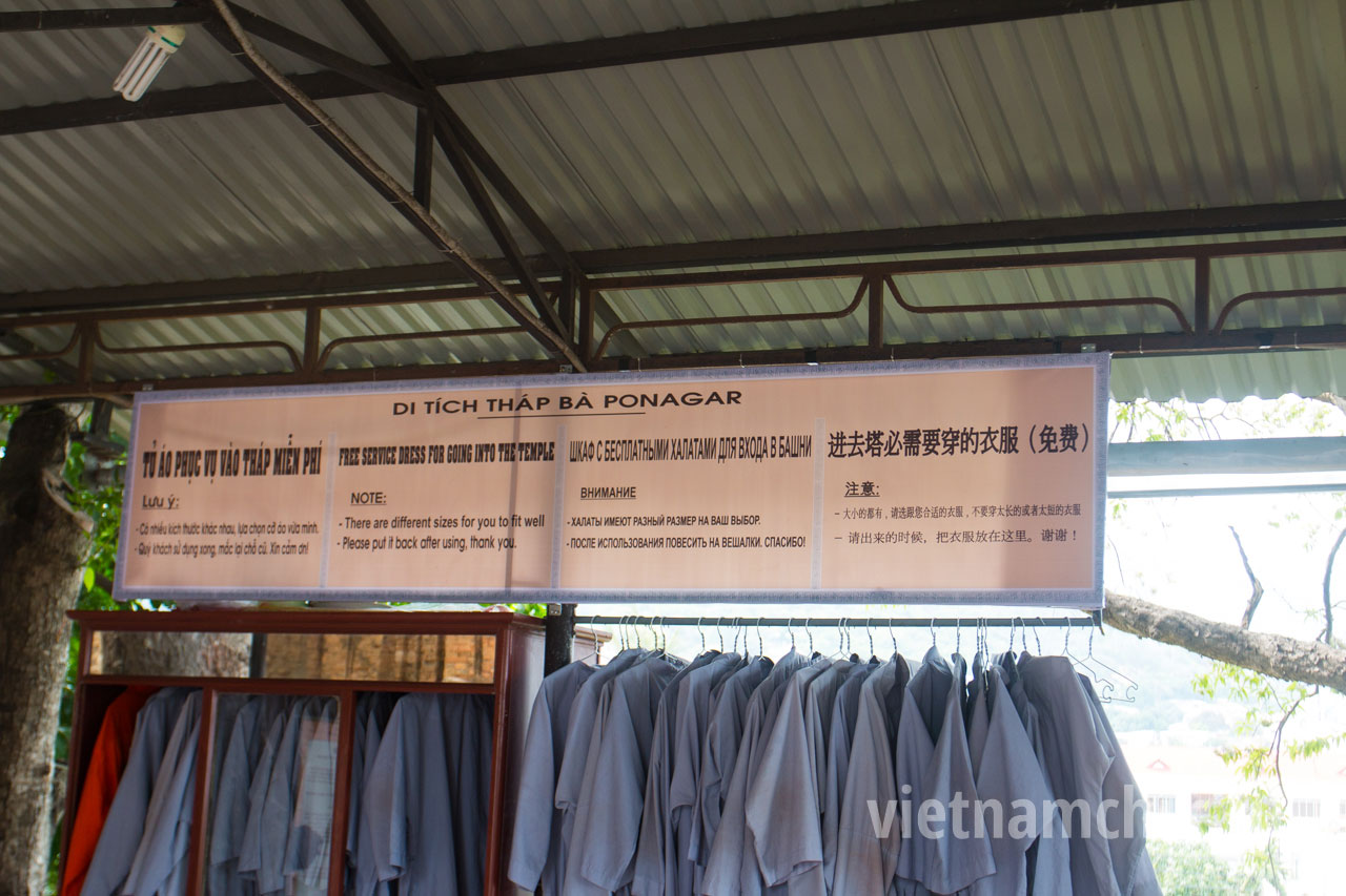 Rent of monastic vestments for the entrance to the temple