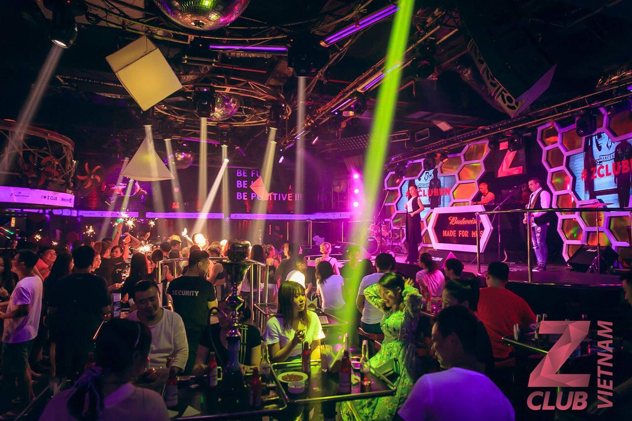 Nightclub ZIMA in Nha Trang. Inside view