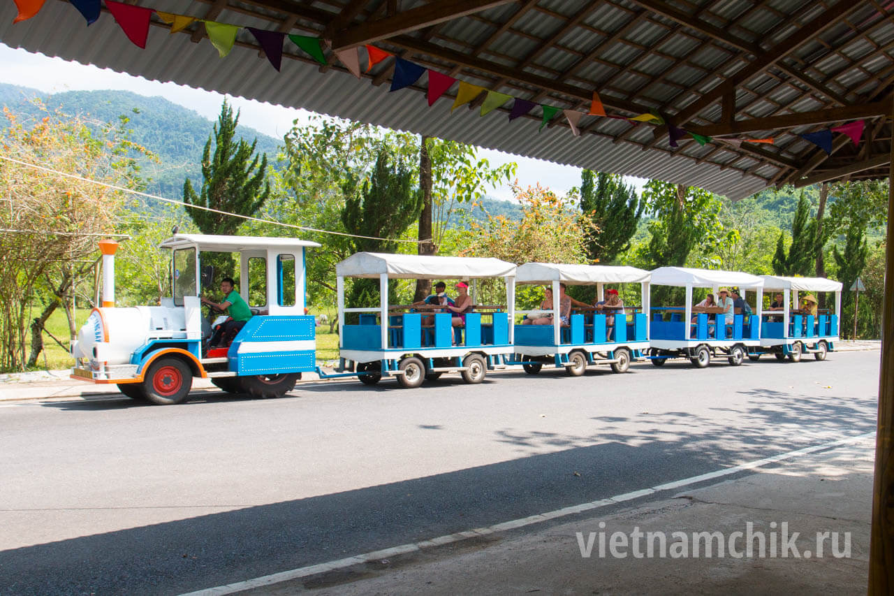 Транспорт на территории парка