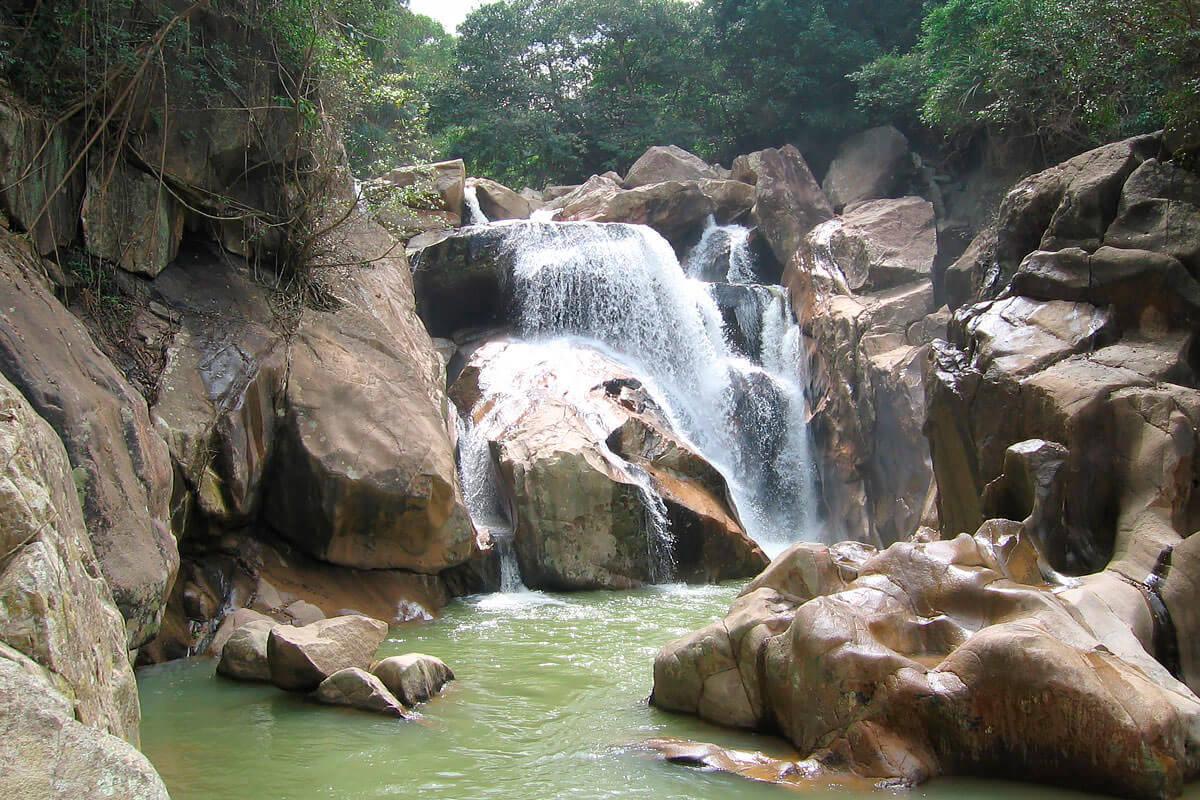 Baho waterfalls