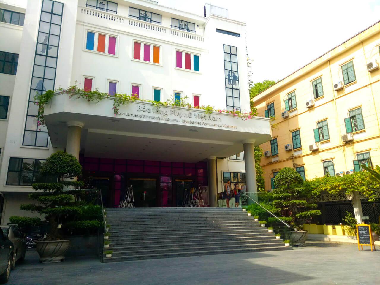 Women's Museum. main entrance
