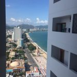 View from the window of apartments in Nha Trang