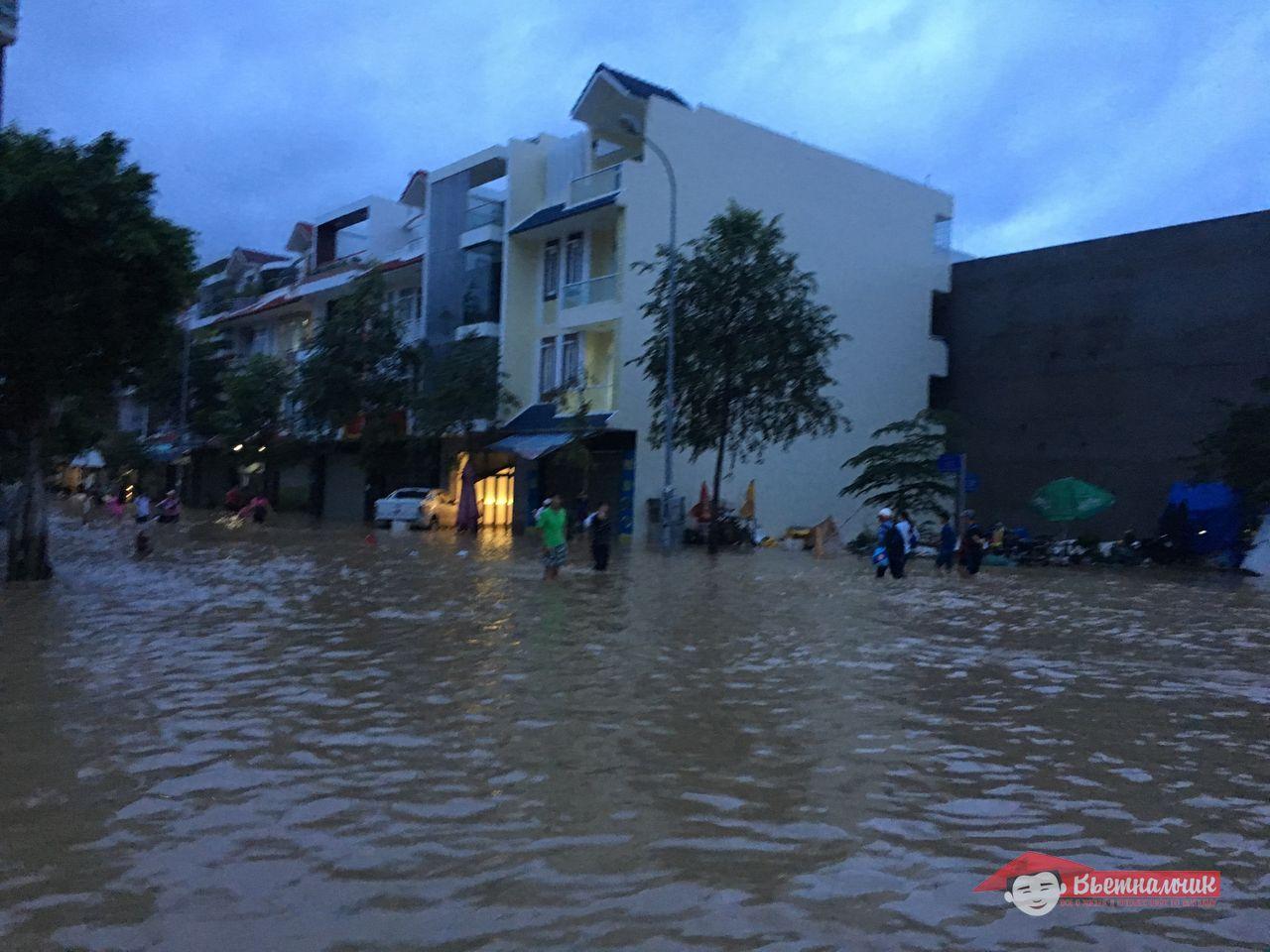 Сезон дождей в Нячанге в 2016 году.