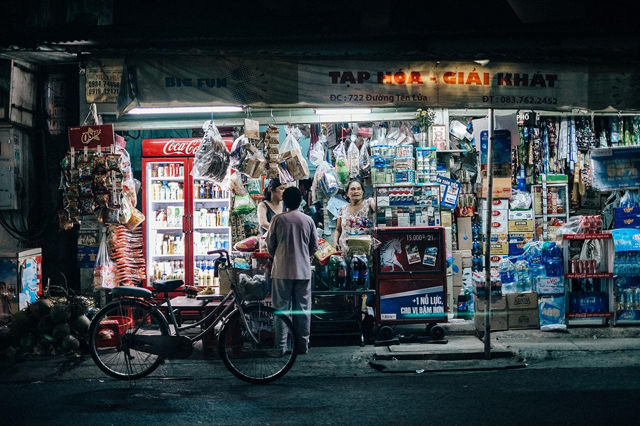 Local store in Vietnam