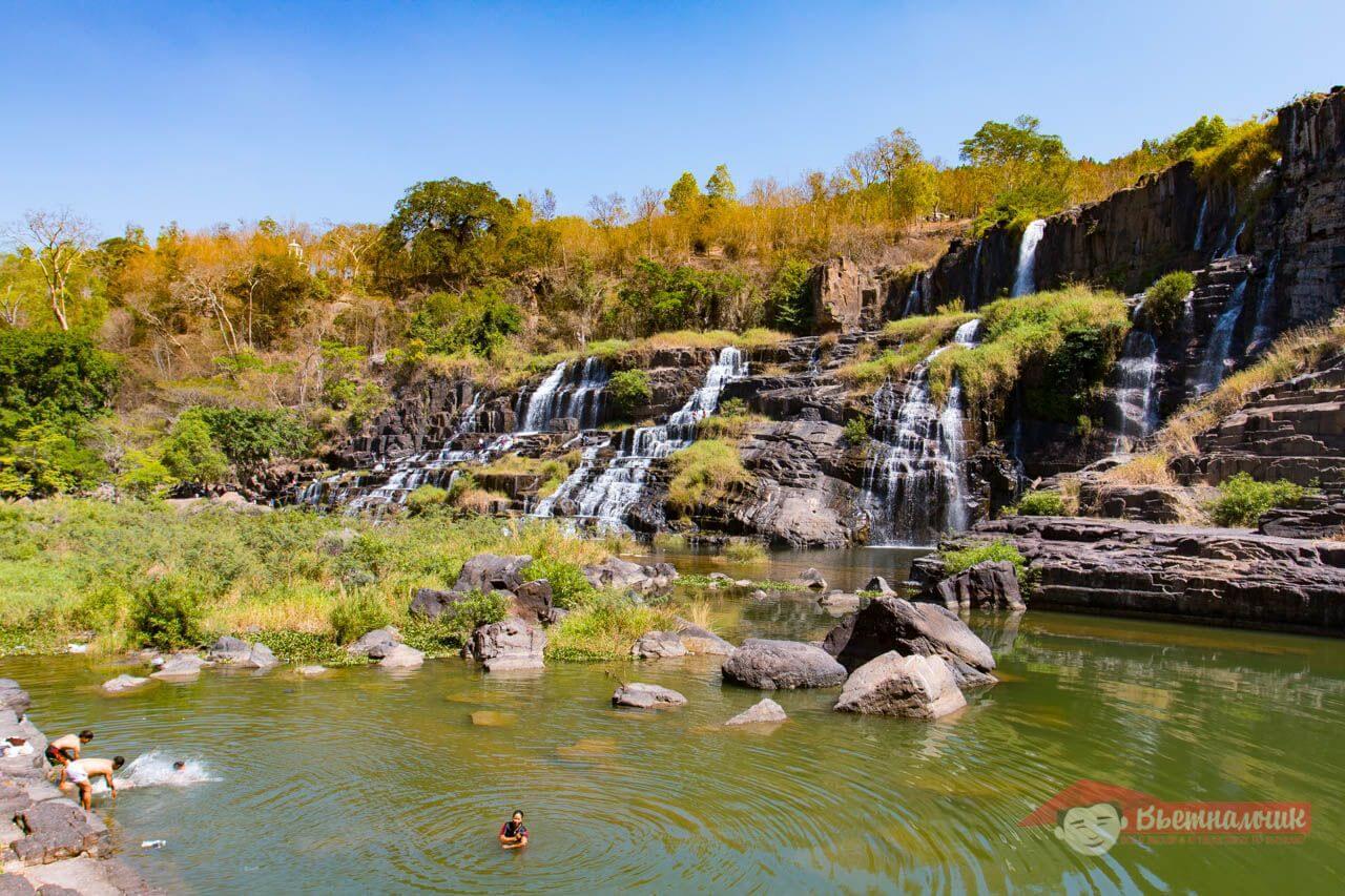 Понгур - самый большой и самый красивый водопад Далата