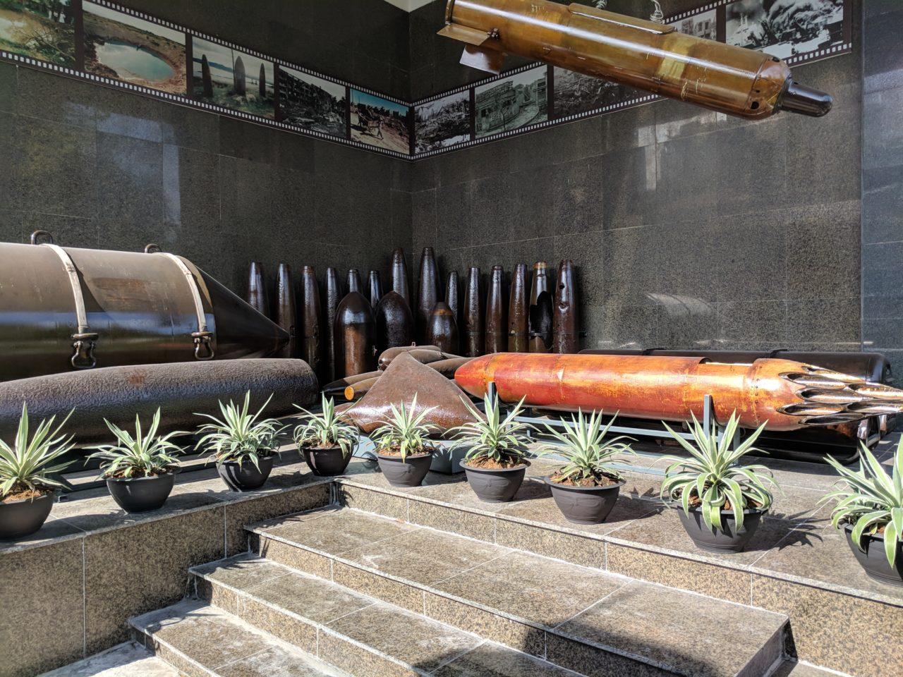 Unexploded ammunition