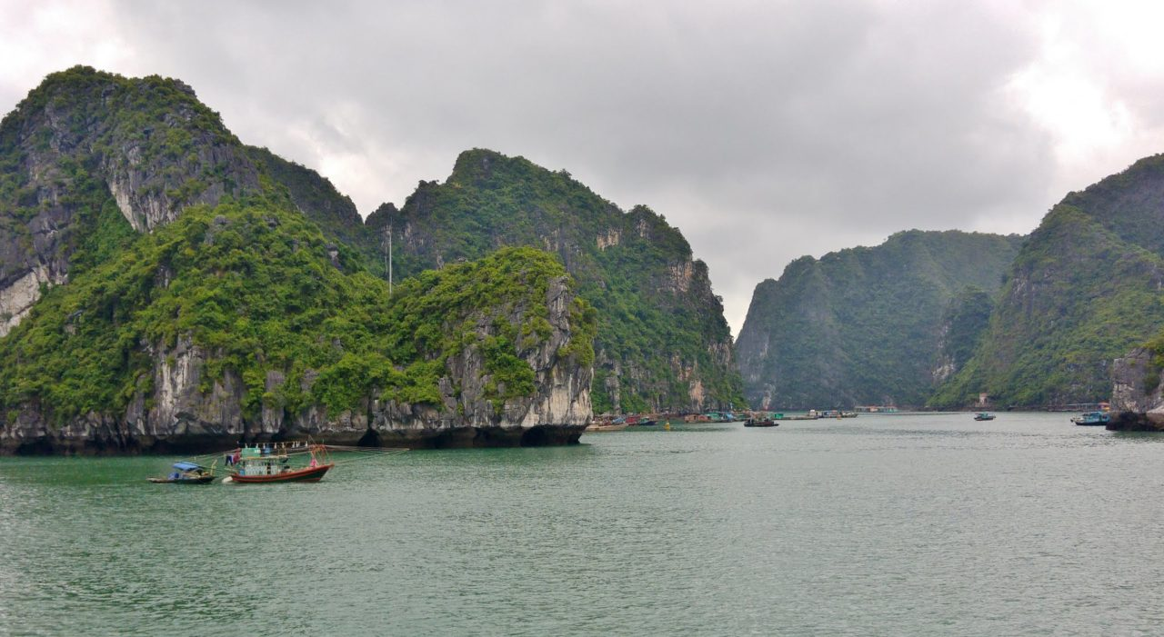 Halong Mountains