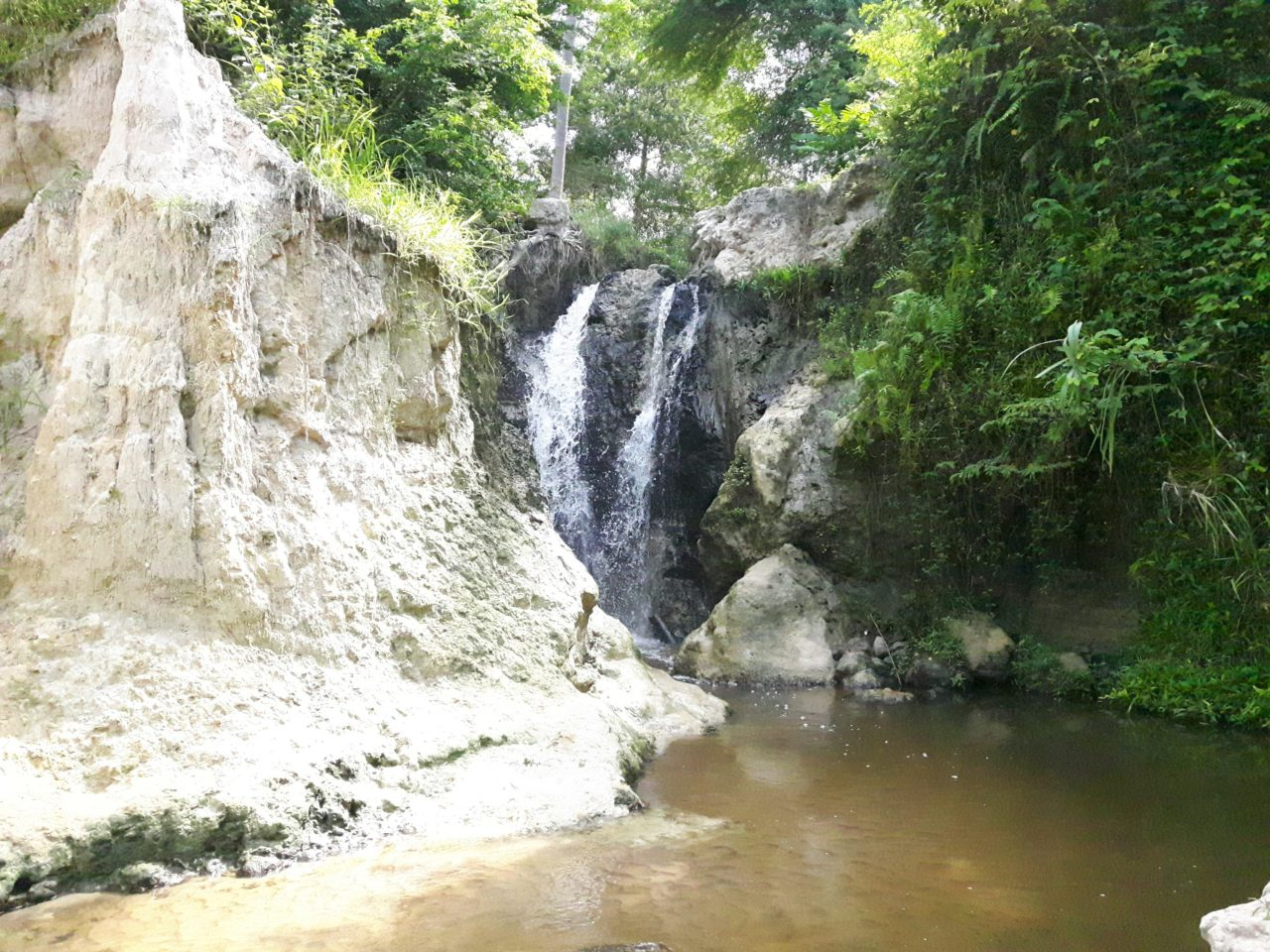 "Waterfall in ""Fairy Stream"""