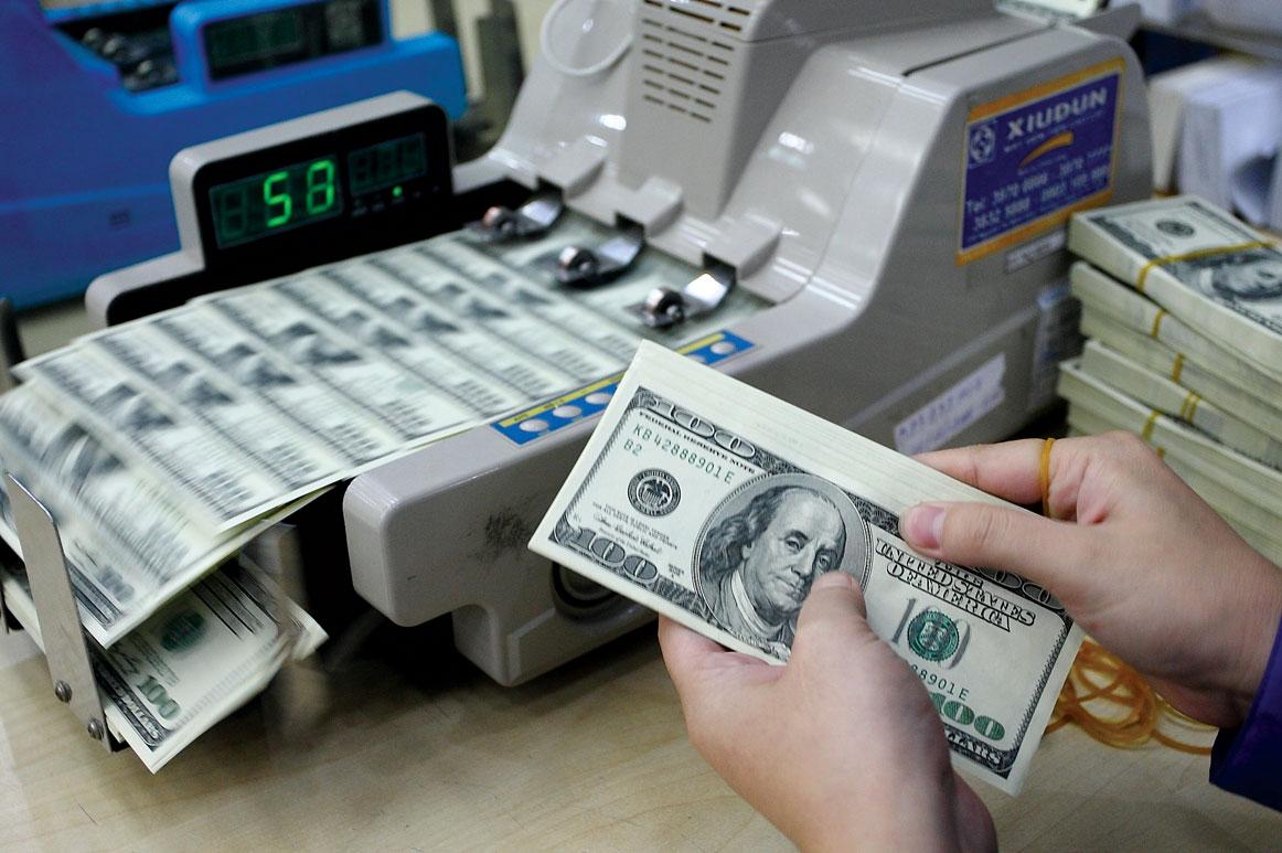 В ходу американский доллар