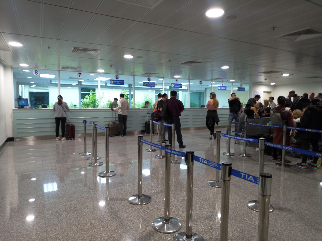 Getting a visa at the airport of Vietnam (Ho Chi Minh)