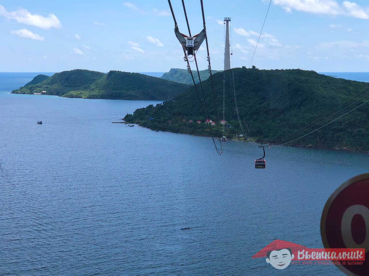 The longest cable car in the world