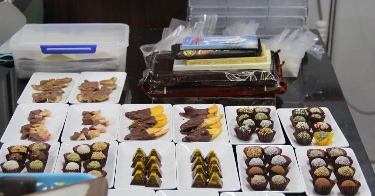 Chocolate sets