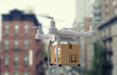 Доставка дронами в Ханое